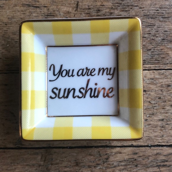 "Draper James Other - Draper James ""You Are My Sunshine"" Tray"